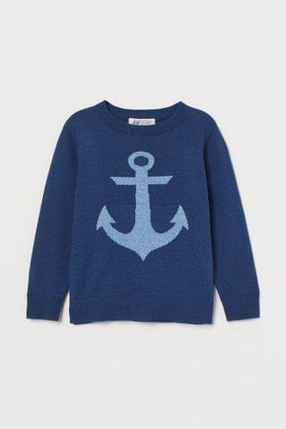 KIDS Jacquard-knit Sweater