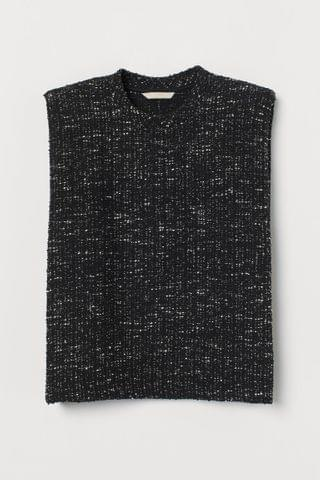 WOMEN Melange Sweater Vest