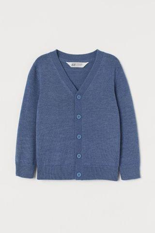 KIDS Fine-knit Cardigan
