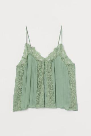 WOMEN Camisole Top with Lace