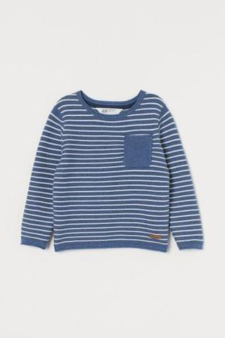 KIDS Textured-knit Sweater