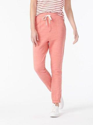 WOMEN Relaxed jogger pant in vintage cotton terry