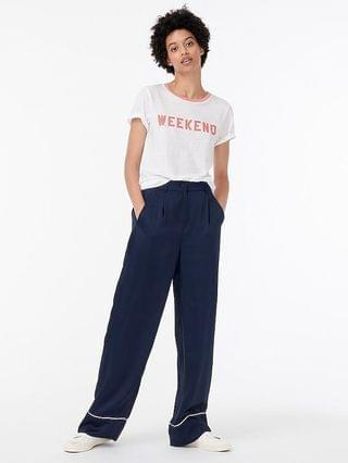 "WOMEN Vintage cotton ""Weekend"" T-shirt"