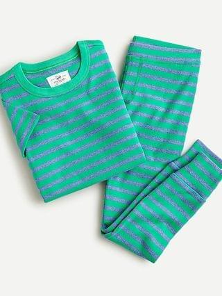 KIDS Kids' short-sleeve pajama set in stripe