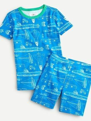 KIDS Boys' short-sleeve printed sleep set
