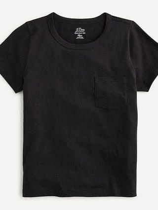 WOMEN Essential fitted pocket T-shirt