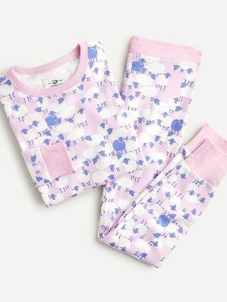 KIDS Girls' long-sleeve printed pajama set