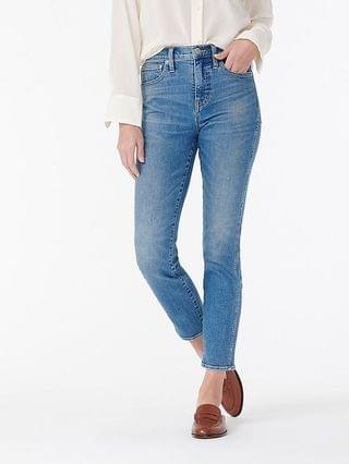 "WOMEN 10"" vintage straight jean in Stratford wash"