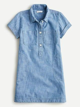 KIDS Girls' chambray field dress