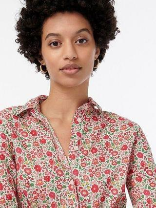 WOMEN Slim-fit shirt in Liberty Danjo floral