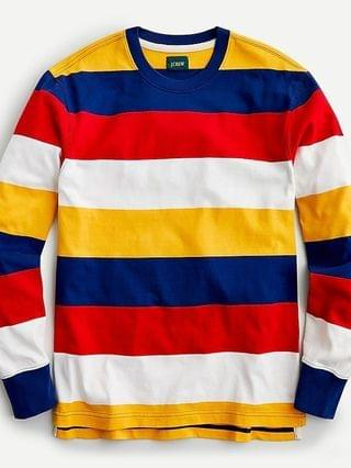 MEN Rugby crewneck shirt in stripe
