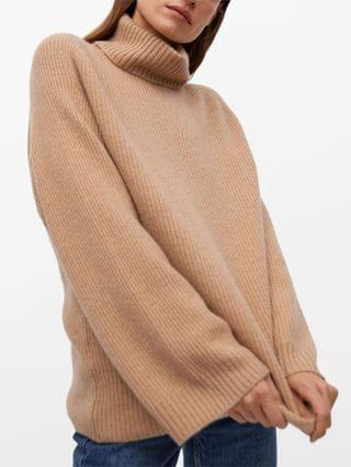 WOMEN Ribbed Cashmere Sweater
