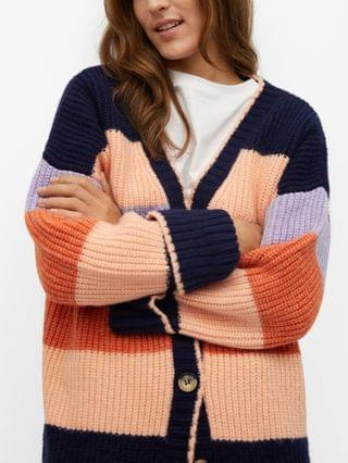WOMEN Multi-Color Knit Cardigan
