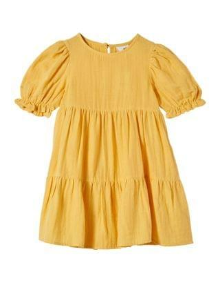 KIDS Little Girls Joy Short Sleeve Dress