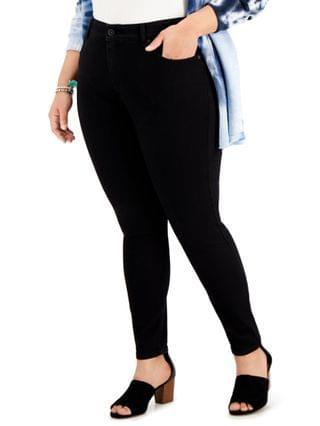 WOMEN Plus Size High-Rise Skinny Jeans Created for Macy's