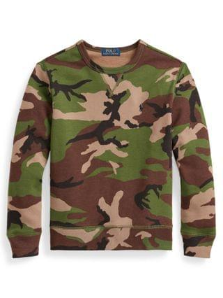 KIDS Big Boys Camo Sweatshirt