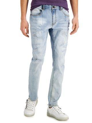 MEN INC Men's Reconstructed Otto Skinny-Fit Jeans Created for Macy's