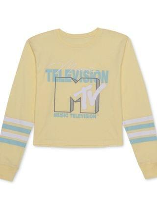 WOMEN Juniors' MTV-Graphic Print Top