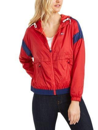WOMEN Colorblocked Windbreaker Jacket