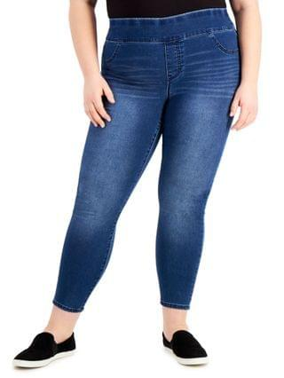 WOMEN Plus Size High-Rise Jeggings Created for Macy's