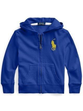 KIDS Little Boys Big Pony Full-Zip Hoodie