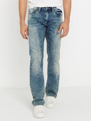 MEN Evan-X Men's Slim Straight Denim Jeans