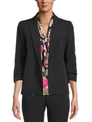 WOMEN Ruched-Sleeve Blazer Created for Macy's