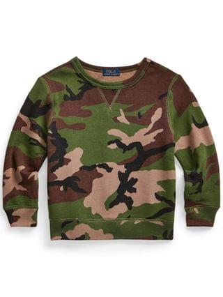 KIDS Little Boys Camo Sweatshirt