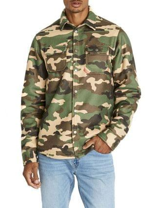 MEN Satige-X Camouflage Sherpa Men's Shirt