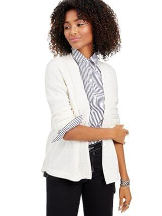 WOMEN Cashmere Open-Front Cardigan Regular & Petite Sizes, Created for Macy's