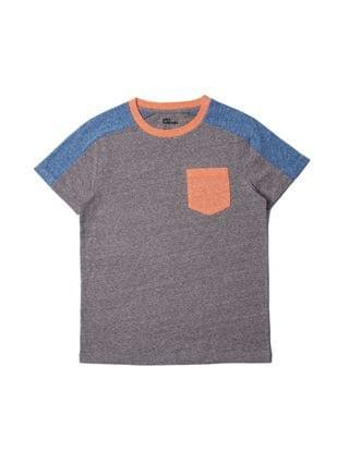 KIDS Big Boys Color Block Pocket T-shirt