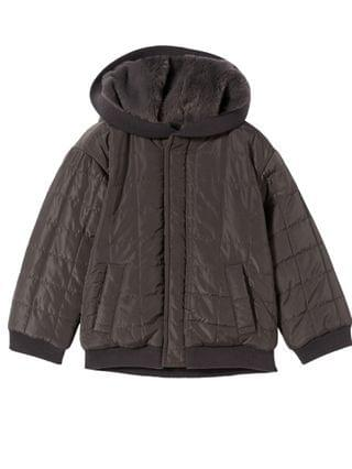 KIDS Little Boys Quilted Rev Bomber Jacket