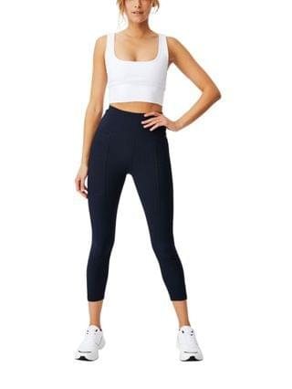 WOMEN Rib Pocket 7/8 Tight