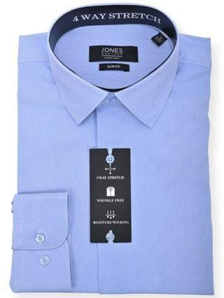 MEN Della Robia Printed Fashion Dress Shirt