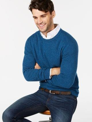 MEN Cashmere Sweater Collection Created for Macy's