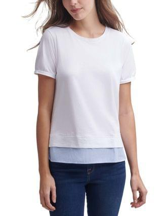 WOMEN Layered-Look T-Shirt