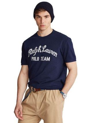 MEN Classic-Fit Embroidered Logo T-Shirt