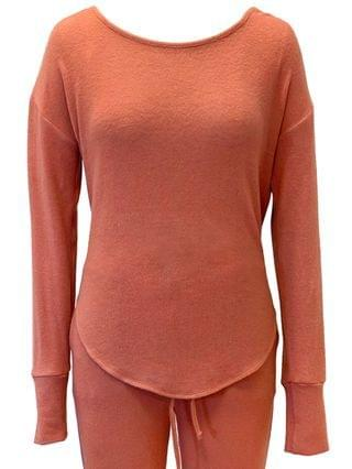 WOMEN Ultra-Soft Knit Pajama Top Created for Macy's