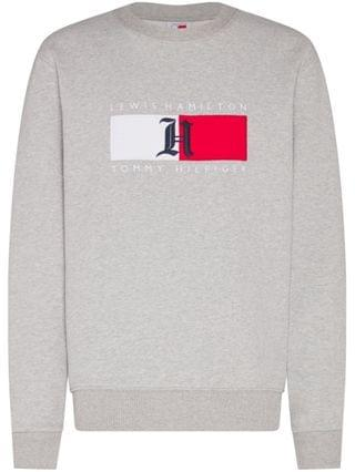MEN Lewis Hamilton Fleece-Lined Logo Sweatshirt