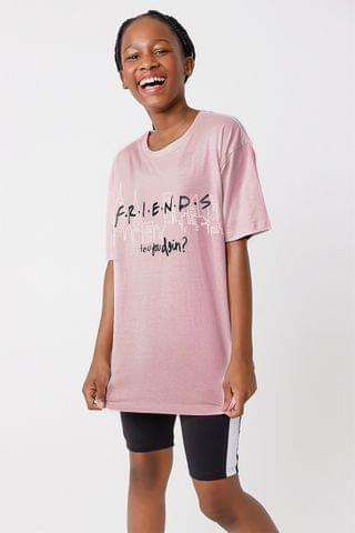 KIDS Oversized Friends T-shirt