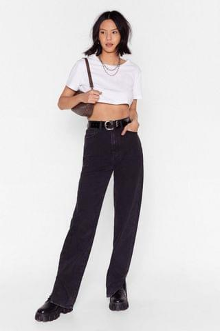 WOMEN Slit's Now or Never Jeans