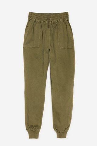 WOMEN Let's Pocket Together High-Waisted Relaxed Pants