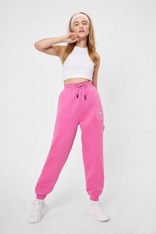 WOMEN Active Society High-Waisted Relaxed Joggers