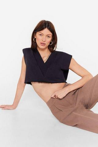 WOMEN V Your Own Muse Cropped Vest Top