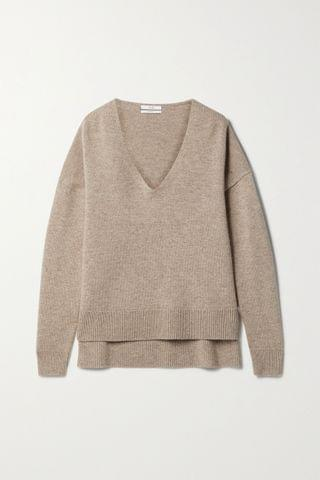 WOMEN CO Wool and cashmere-blend sweater