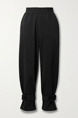 WOMEN FRANKIE SHOP French cotton-terry track pants