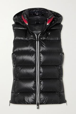 WOMEN TONI SAILER Lou quilted glossed down ski vest