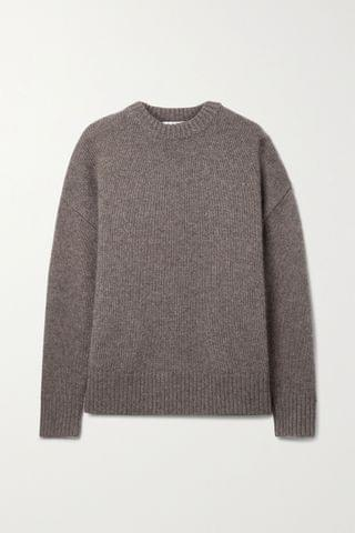 WOMEN CO Oversized wool and cashmere-blend sweater