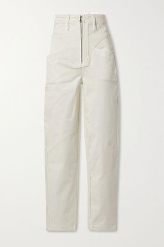 WOMEN TRE BY NATALIE RATABESI The Lynne cotton-blend twill skinny pants