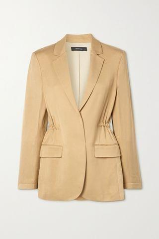 WOMEN THEORY Twill blazer